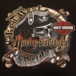Harley-Davidson Key West, FL Pirate Men's Sz L